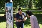 В саду имени С.Т. Аксакова прошло мероприятие для ветеранов «За здоровый образ жизни»